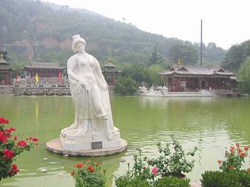 07:07華清池の池