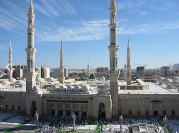09:03メディナ ムハンマドの墓
