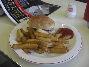 10:03ハンバーガー