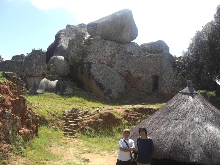 10:09ジンバブエ遺跡アクロポリス